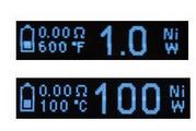 Eleaf iStick TC100W screen 2